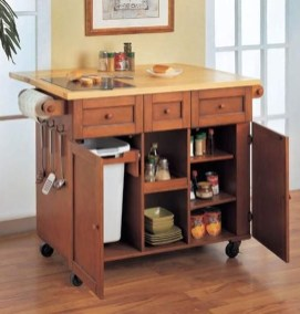 Cool Kitchen Island Design Ideas 49