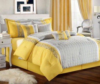 Delightful Yellow Bedroom Decoration And Design Ideas 01