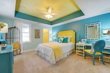 Delightful Yellow Bedroom Decoration And Design Ideas 35