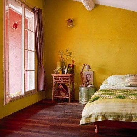 Delightful Yellow Bedroom Decoration And Design Ideas 37