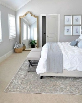 Elegant Small Master Bedroom Inspiration On A Budget 14