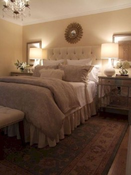 Elegant Small Master Bedroom Inspiration On A Budget 16