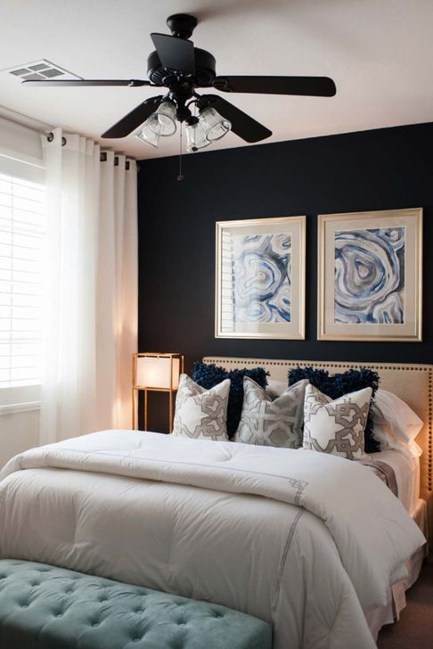 Elegant Small Master Bedroom Inspiration On A Budget 38