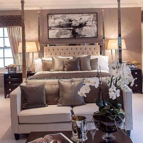 Elegant Small Master Bedroom Inspiration On A Budget 45