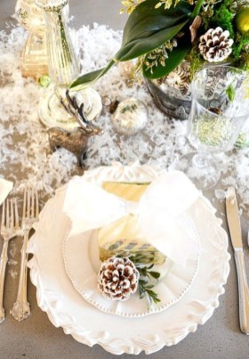Extraordinary Winter Table Decoration You Can Make 06