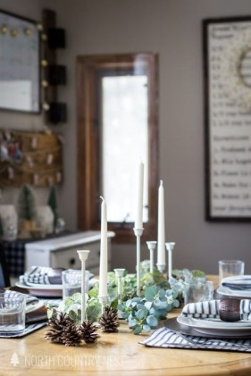 Extraordinary Winter Table Decoration You Can Make 15