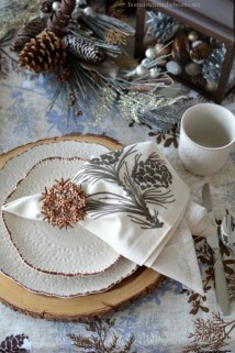 Extraordinary Winter Table Decoration You Can Make 21