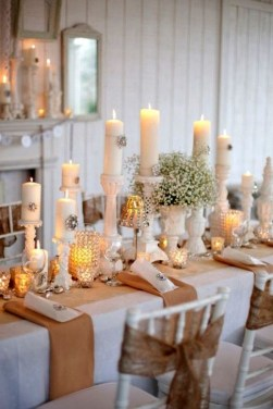 Extraordinary Winter Table Decoration You Can Make 55