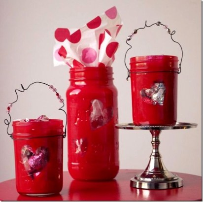 Fabulous Valentines Day Mason Jar Decor Ideas 02