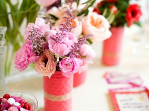 Fabulous Valentines Day Mason Jar Decor Ideas 16