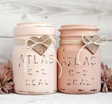 Fabulous Valentines Day Mason Jar Decor Ideas 17