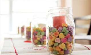 Fabulous Valentines Day Mason Jar Decor Ideas 30