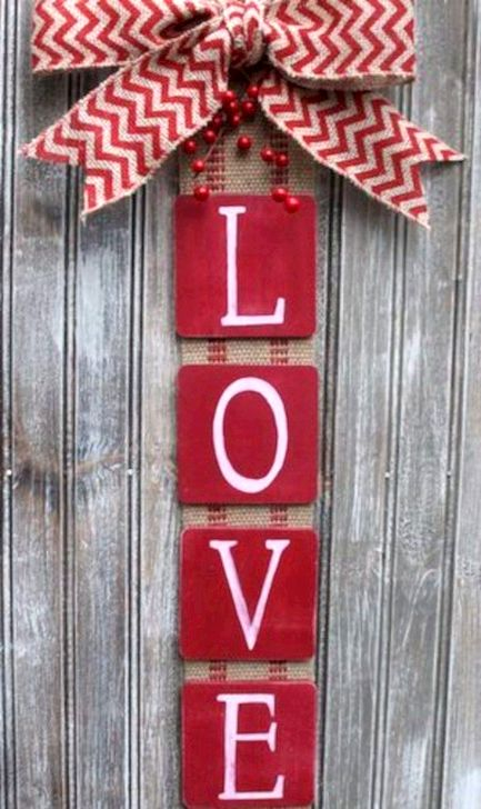 Fantastic DIY Valentines Day Decoration Ideas 45