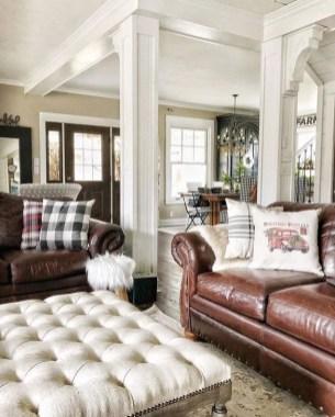 Gorgeous Winter Family Room Design Ideas 24