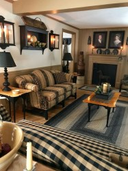 Gorgeous Winter Family Room Design Ideas 38
