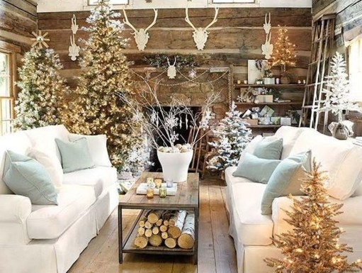 Neutral Winter Decoration Ideas For Your Home 15