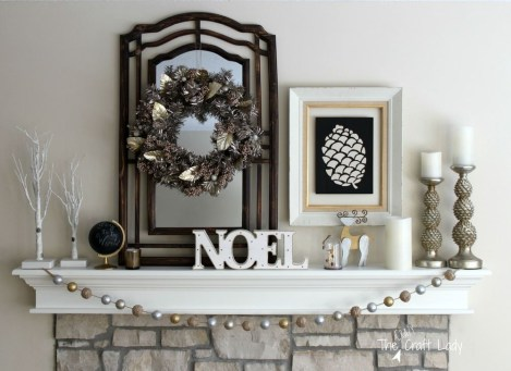 Neutral Winter Decoration Ideas For Your Home 18