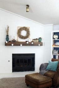 Neutral Winter Decoration Ideas For Your Home 30