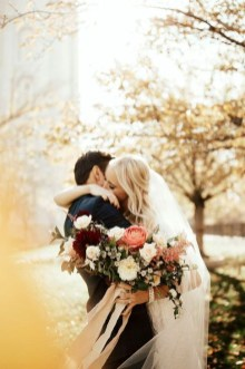 Romantic Valentines Day Wedding Inspiration Ideas 39