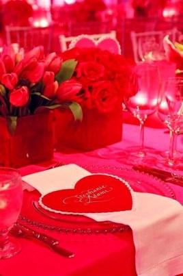 Romantic Valentines Day Wedding Inspiration Ideas 46
