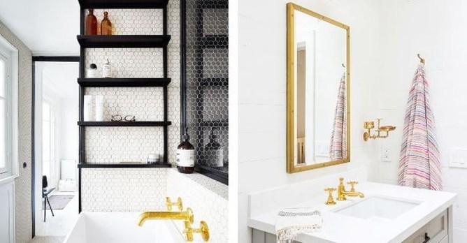 Simple But Modern Bathroom Storage Design Ideas 15