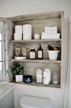 Simple But Modern Bathroom Storage Design Ideas 17