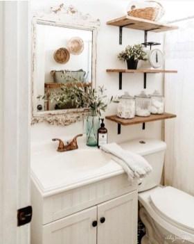 Simple But Modern Bathroom Storage Design Ideas 23