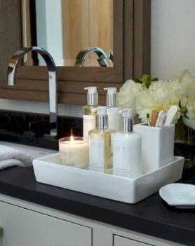 Simple But Modern Bathroom Storage Design Ideas 25
