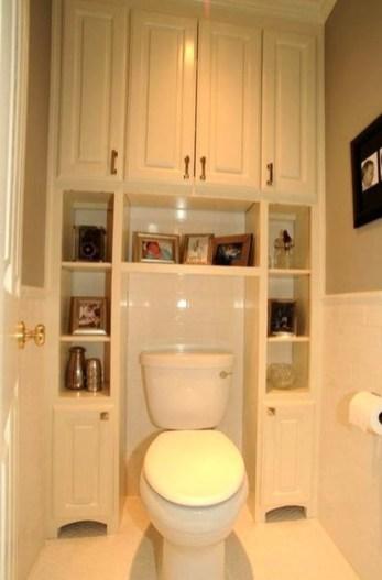 Simple But Modern Bathroom Storage Design Ideas 27