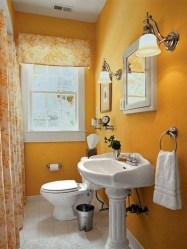 Simple But Modern Bathroom Storage Design Ideas 35
