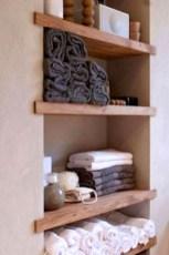 Simple But Modern Bathroom Storage Design Ideas 41