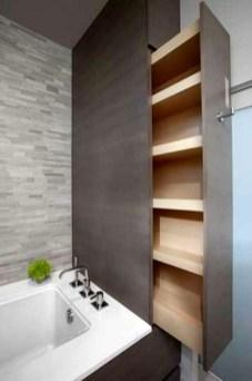 Simple But Modern Bathroom Storage Design Ideas 45