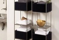 Simple But Modern Bathroom Storage Design Ideas 50