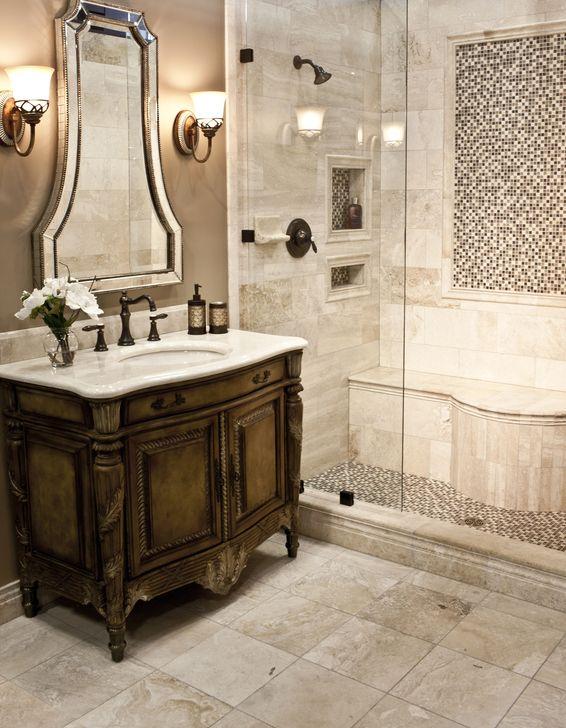 Simple Traditional Bathroom Design Ideas 49