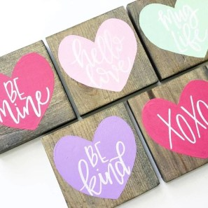 Sweet Heart Crafts Ideas For Valentines Day 24