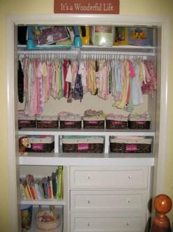 Totally Inspiring Kids Closet Organization Ideas 20