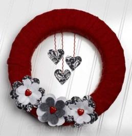 Wonderful DIY Valentines Wreath Decor Ides 05