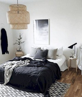Astonishing Scandinavian Bedroom Design Ideas 16