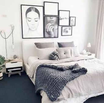 Astonishing Scandinavian Bedroom Design Ideas 35