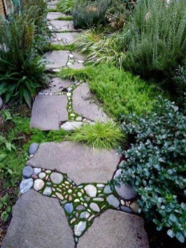 Best DIY Garden Path Designs You Can Bulid To Complete Your Gardens 40