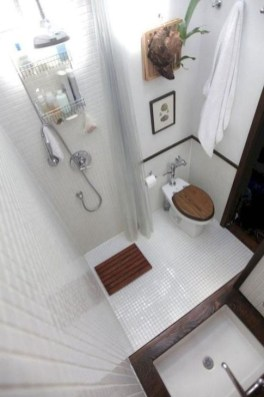 Cool Tiny House Bathroom Remodel Design Ideas 06