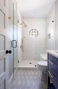 Cool Tiny House Bathroom Remodel Design Ideas 15