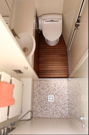 Cool Tiny House Bathroom Remodel Design Ideas 42