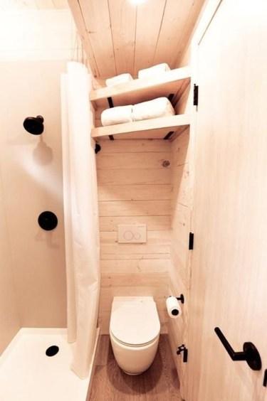 Cool Tiny House Bathroom Remodel Design Ideas 48