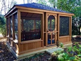 Cozy Gazebo Design Ideas For Your Backyard 05