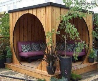 Cozy Gazebo Design Ideas For Your Backyard 18