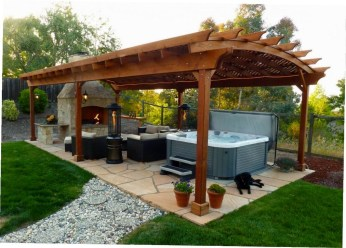 Cozy Gazebo Design Ideas For Your Backyard 20