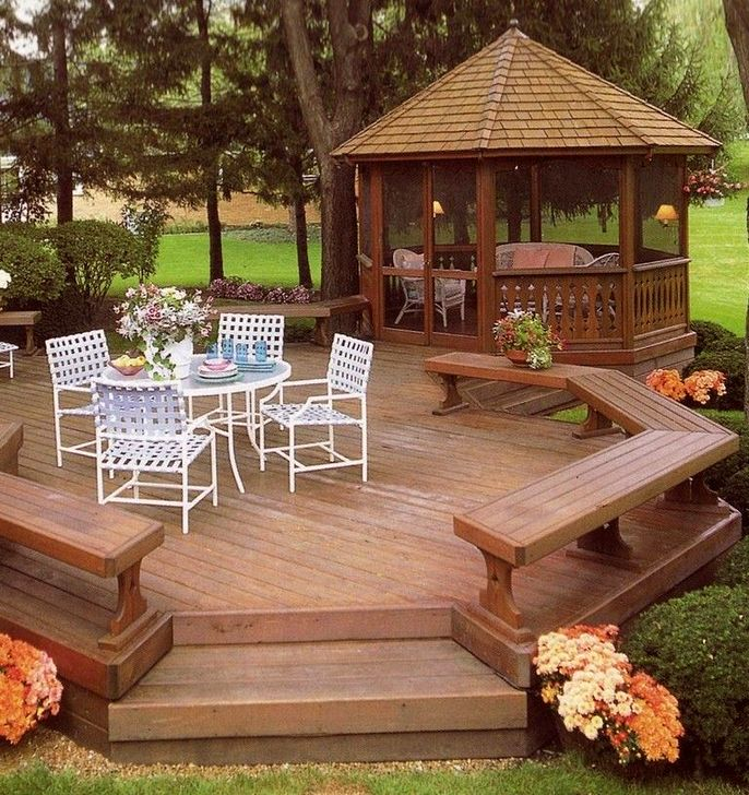 Cozy Gazebo Design Ideas For Your Backyard 22