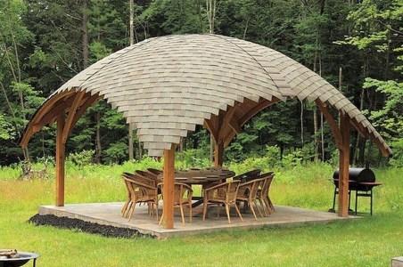 Cozy Gazebo Design Ideas For Your Backyard 29
