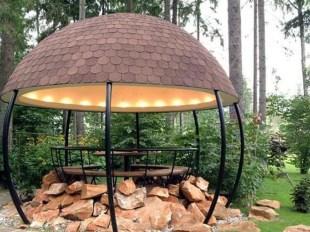 Cozy Gazebo Design Ideas For Your Backyard 34